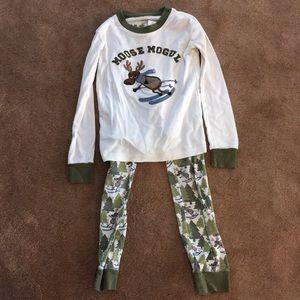 Gymboree size 7 boys pajamas